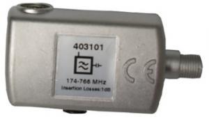 Filtro LTE F 470...774 MHz (C21-58)