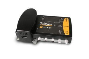 Central amplificadora de línea MATV, Minikom BP 1e/1s VHF/UHF